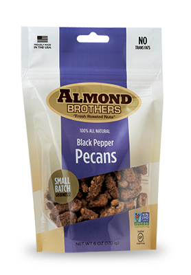 Almond Brothers Black Pepper Pecans