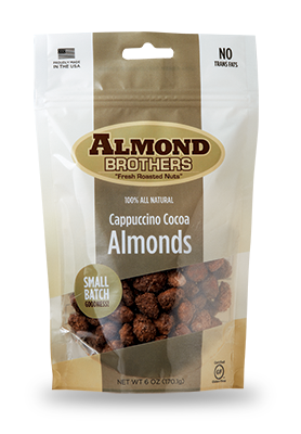 Almond Brothers Cappuccino Cocoa Almonds