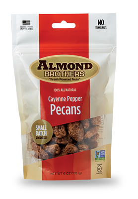 Almond Brothers Cayenne Pepper Pecans