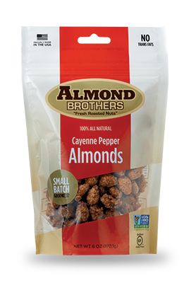 Almond Brothers Cayenne Pepper Almonds