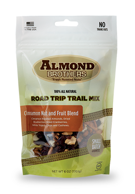 Almond Brothers Cinnamon Nut and Fruit Trail Mix