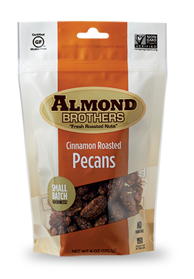 Almond Brothers Cinnamon Roasted Pecans