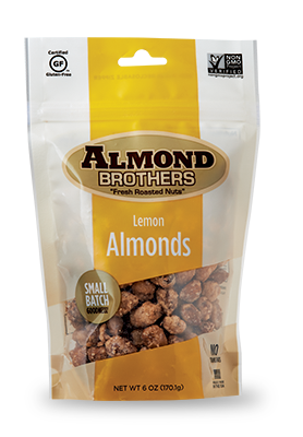 Almond Brothers Lemon Roasted Almonds