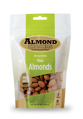 Almond Brothers Plain Almonds