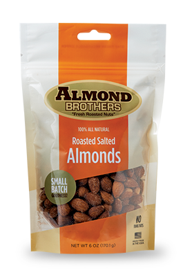 Almond Brothers Roasted Salted Almonds