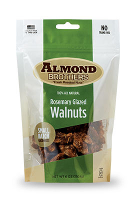 Almond Brothers Rosemary Glazed Walnuts