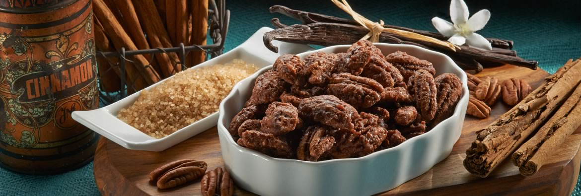 Cinnamon Pecans from Almond Brothers
