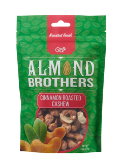 Almond Brothers Cinnamon Roasted Cashews