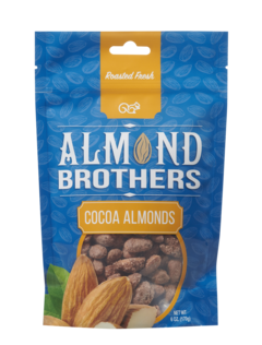 Almond Brothers Cocoa Roasted Almonds