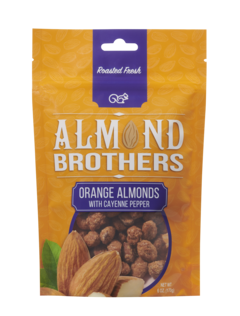 Almond Brothers Orange Almonds