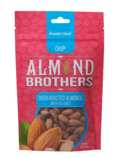 Almond Brothers Oven Roasted Almonds with Sea Salt
